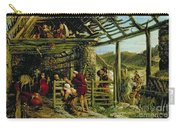The Nativity Carry-all Pouch by William Bell Scott