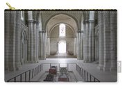 The Nave With Tombs Fontevraud Abbey Carry-all Pouch