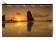 The Needles At Haystack - Cannon Beach Sunset  Carry-all Pouch