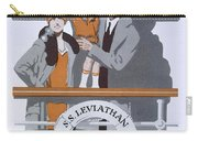 The New Holiday, Vintage Travel Poster Carry-all Pouch