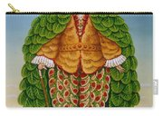 The New Vestments Ivor Cutler As Character In Edward Lear Poem, 1994 Oils And Tempera On Panel Carry-all Pouch