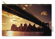 The New York City Skyline - Sunset Carry-all Pouch
