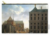 The Nieuwe Kerk And The Rear Of The Town Hall In Amsterdam  Carry-all Pouch by Isaak Ouwater
