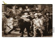 The Night Watch By Rembrandt Carry-all Pouch