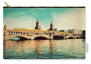 The Oberbaum Bridge In Berlin Germany Carry-all Pouch