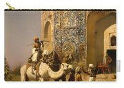 The Old Blue Tiled Mosque - India Carry-all Pouch