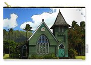 The Old Church In Hanalei Carry-all Pouch