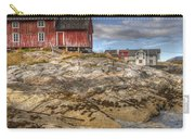 The Old Fisherman's Hut Carry-all Pouch by Heiko Koehrer-Wagner