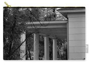 The Old Homestead In Black And White Carry-all Pouch