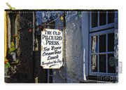The Old Pilchard Press Carry-all Pouch