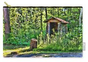 The Old Shed Carry-all Pouch by Cathy  Beharriell
