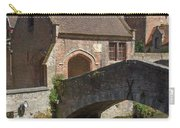 The Old Stone Bridge In Bruges Carry-all Pouch