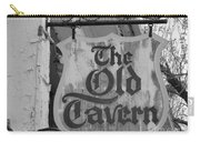 The Old Tavern Carry-all Pouch