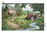 The Old Tractor Carry-all Pouch by Steve Crisp