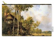 The Old Windmill Near Barbizon Carry-all Pouch