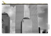 The Old Wtc Carry-all Pouch by Joann Vitali