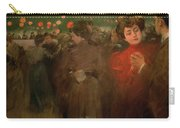 The Open Air Party Carry-all Pouch by Ramon Casas i Carbo