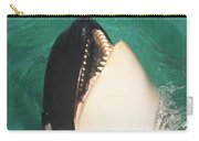 The Original Shamu Orca At Sea World San Diego California 1967 Carry-all Pouch by California Views Mr Pat Hathaway Archives
