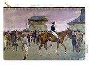 The Owner S Enclosure Newmarket Carry-all Pouch by Isaac Cullen