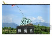 The Pacific War Memorial On Marine Carry-all Pouch