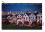 The Painted Ladies Of San Francsico Carry-all Pouch