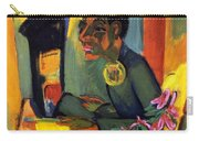 The Painter - Self Portrait Carry-all Pouch