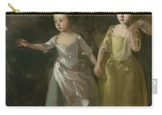 The Painter's Daughters Chasing A Butterfly Carry-all Pouch