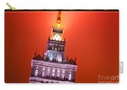 The Palace Of Culture And Science Warsaw Poland  Carry-all Pouch by Michal Bednarek