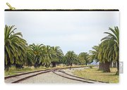 The Palms By The Tracks Carry-all Pouch