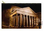 The Pantheon At Night - Painting Carry-all Pouch