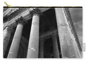 The Pantheon In Rome Bw Carry-all Pouch
