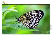 The Paper Kite Or Rice Paper Or Large Tree Nymph Butterfly Also Known As Idea Leuconoe 2 Carry-all Pouch