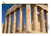 The Parthenon Carry-all Pouch by Brian Jannsen