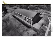 The Parthenon In Black And White Carry-all Pouch by Dan Sproul