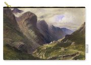 The Pass Of Glencoe, 1852 Carry-all Pouch by William Bennett