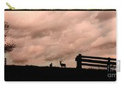 Nature The Peace Of Dusk Carry-all Pouch