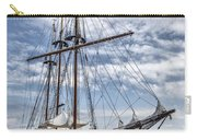 The Peacemaker Tall Ship Carry-all Pouch by Dale Kincaid