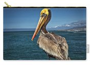 The Pelican Of Oceanside Pier Carry-all Pouch