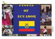 The People Of Ecuador Collage Carry-all Pouch