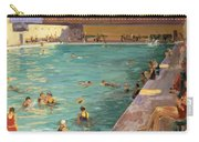 The Peoples Pool, Palm Beach, 1927 Carry-all Pouch