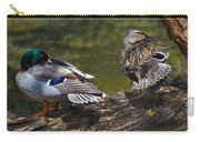 The Perfect Mallard Couple Carry-all Pouch