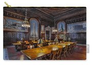 The Periodicals Room At The New York Public Library Carry-all Pouch