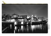 The Philadelphia Waterworks In Black And White Carry-all Pouch by Bill Cannon