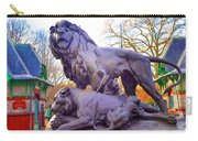 The Philadelphia Zoo Lion Statue Carry-all Pouch