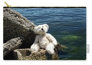 The Philosopher - Teddy Bear Art By William Patrick And Sharon Cummings Carry-all Pouch by Sharon Cummings