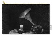 The Phonograph 4 Mono Carry-all Pouch