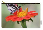 The Piano Key Butterfly Carry-all Pouch