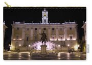 The Piazza Del Campidoglio At Night Carry-all Pouch