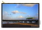 The Pier At Lauderdale By The Sea Carry-all Pouch