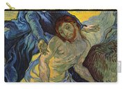 The Pieta After Delacroix 1889 Carry-all Pouch by Vincent Van Gogh